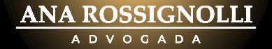 Logotipo Advogada Ana Rossignolli